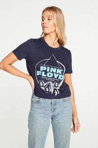 Chaser Pink Floyd Cropped Tee