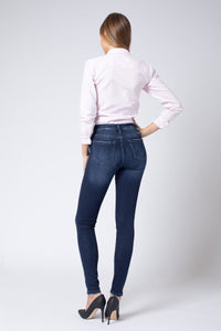 KanCan Mid Rise Ankle Skinny