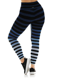 K-Deer Sneaker Length in Emmie Stripe Legging