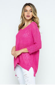 Best Selling Hi Low Sweater in 4 colors