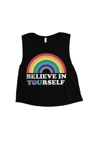 Believe in Yourself Tank