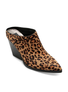 SALE-Dolce Vita Ira Mules in Dark Leopard-FINAL SALE