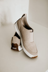Sorel Out N About Plus Slip-On in Soft Taupe