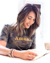 Load image into Gallery viewer, Amen Camo Graphic Tee