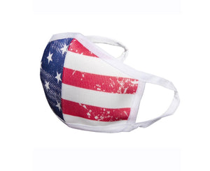 Child American Flag Mask