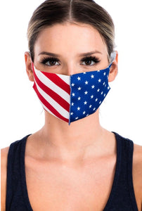 Stars and Stripes Face Mask