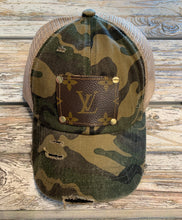 Load image into Gallery viewer, JUST IN!!!   One of a Kind LV  Baseball pony tail Hat