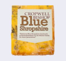 Cheese Board Blue Shropshire Portions