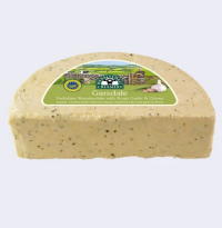 Hawes Wensleydale Garlic and Chive cheese