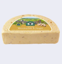 Hawes Wensleydale and Ginger cheese