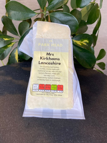 Park Head Mrs Kirkhams Lancashire Cheese
