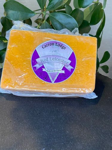 Farmhouse Red Leicester Cheese
