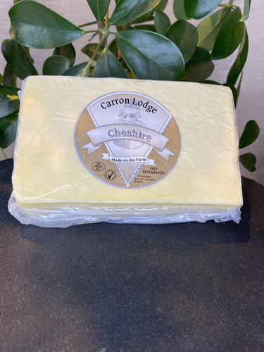 Farmhouse White Cheshire Cheese