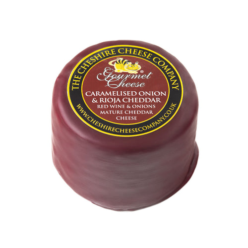 Caramelised Onion & Rioja Cheddar 200g