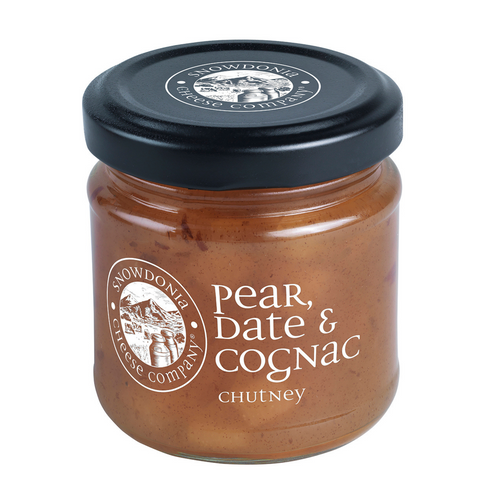 Pear Date and Cognac Chutney