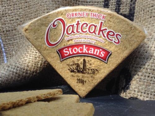 Thick Stockans Oatcake Triangles 100g