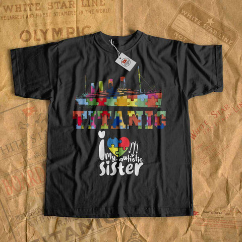 Autism awareness shirt kids - Titanic vintage kid clothes, Titanic shirt for boy - Titanic lover, t-shirt for history buff-T-shirt new-Titanic shop-autism-awareness-Titanic-Titanic shop