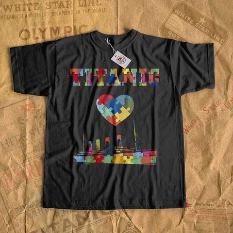 Autism awareness tshirt - Titanic clothes for boy, autism acceptance shirt, outdoor adventure t shirt-T-shirt new-Titanic shop-autism-awareness-Titanic-Titanic shop