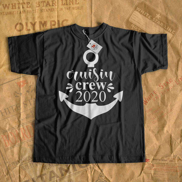Cruisin crew 2020 - cruise t-shirt-T-shirt new-Printify-cruise-sea-ocean-nautical-tee-shirt-tshirt-Titanic shop