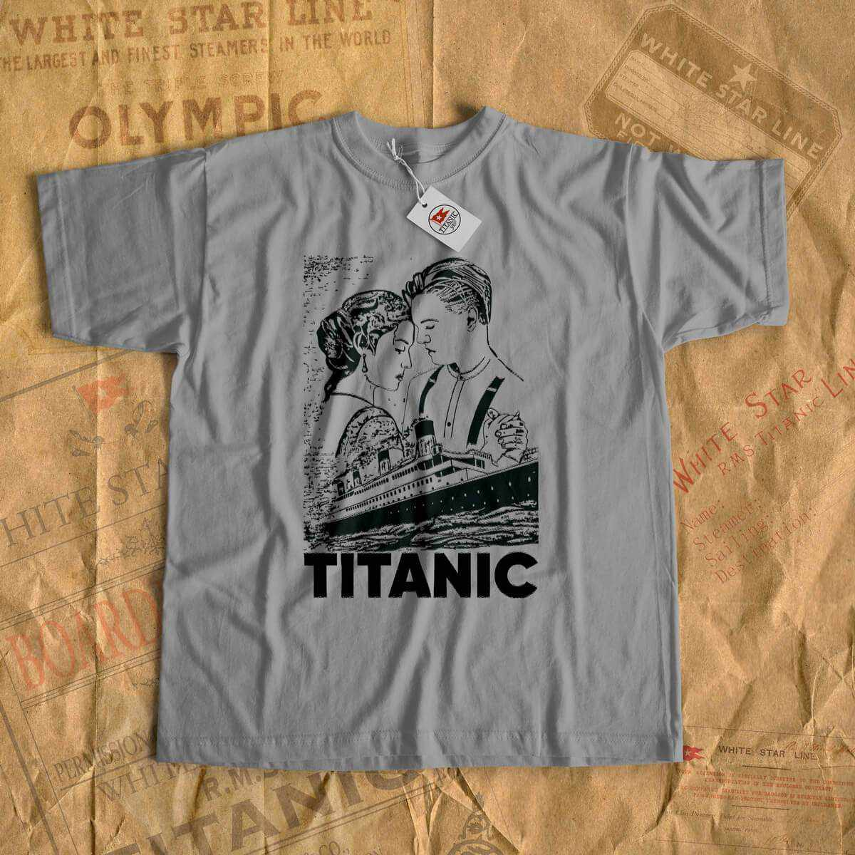 Jack Rose tshirt, Titanic retro vintage shirt, tees with Titanic art. Gift for boyfriend, gift for girlfriend-T-shirt new-Titanic shop-titanic-tee-shirt-tshirt-1912-Titanic shop