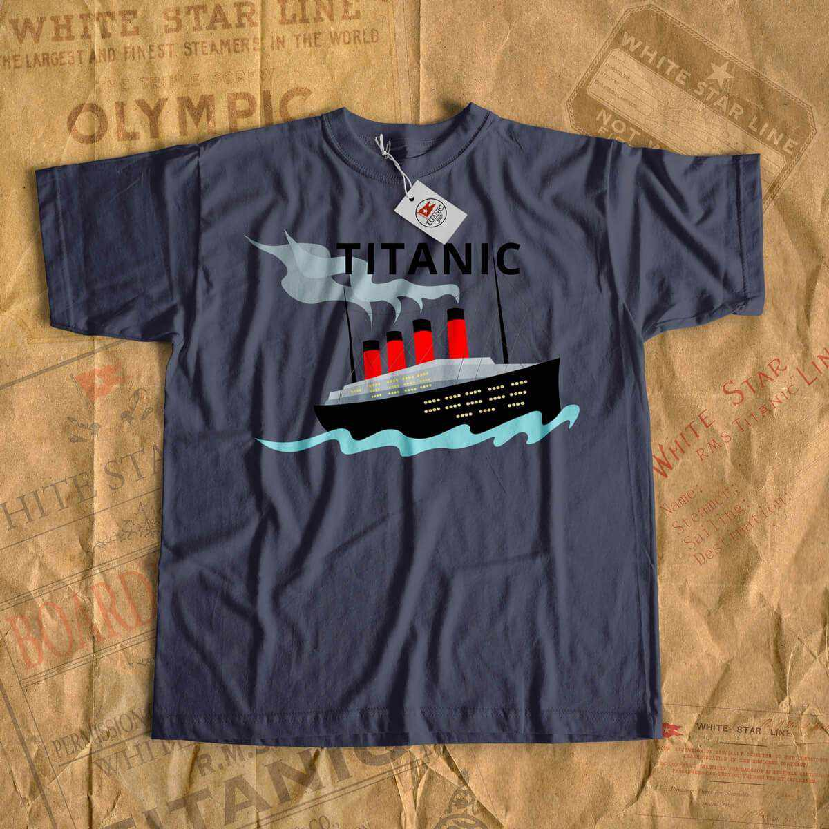 Kids Titanic shirt, boys cruise tshirt - vacation kids shirt, custom kids shirt. Gift for gift history buff - Titanic lover, Titanic fan-T-shirt new-Titanic shop-titanic-tee-shirt-tshirt-1912-Titanic shop
