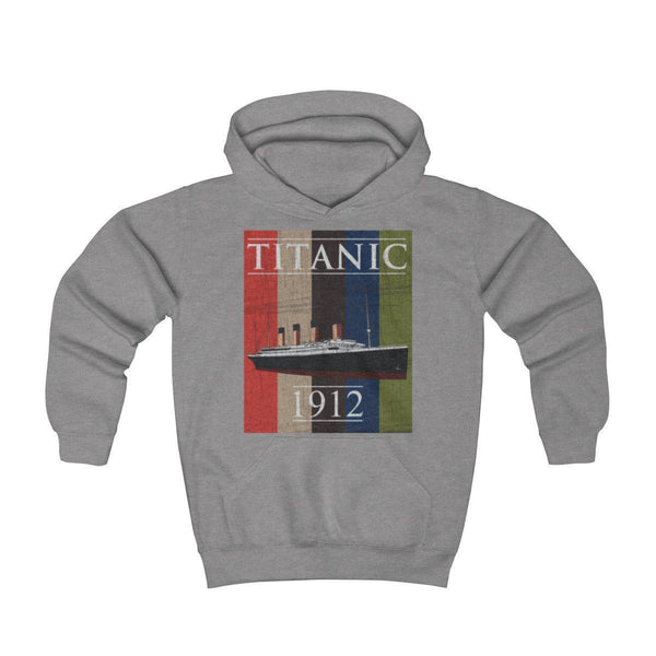 Rare vintage band hoodie, Titanic 1912 shirt, Titanic movie poster pullover. Gift for her, gift for him-Hoodie-Printify-titanic-hoodie-sweatshirt-kids-Titanic shop