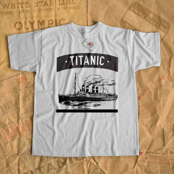 RMS Titanic rare vintage t shirt, personalized shirt - for boy 6 7 8 years old, old cruise ship shirt, gift for son-T-shirt new-Titanic shop-titanic-tee-shirt-tshirt-1912-Titanic shop