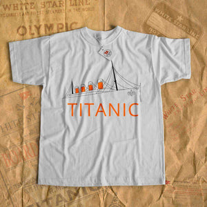 Titanic adventure t shirt, summer cruise t-shirt for foy, birthday gift 6 7 8 years old-T-shirt new-Titanic shop-titanic-tee-shirt-tshirt-1912-Titanic shop