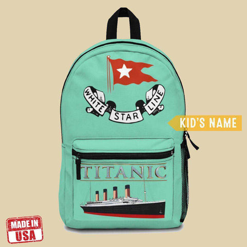 Titanic backpacks for school, girls school bag, backpack for pupil & college student-School backpack-Printify-titanic-school-tote-bag-backpack-duffel-drawstring-white-star-line-Titanic shop