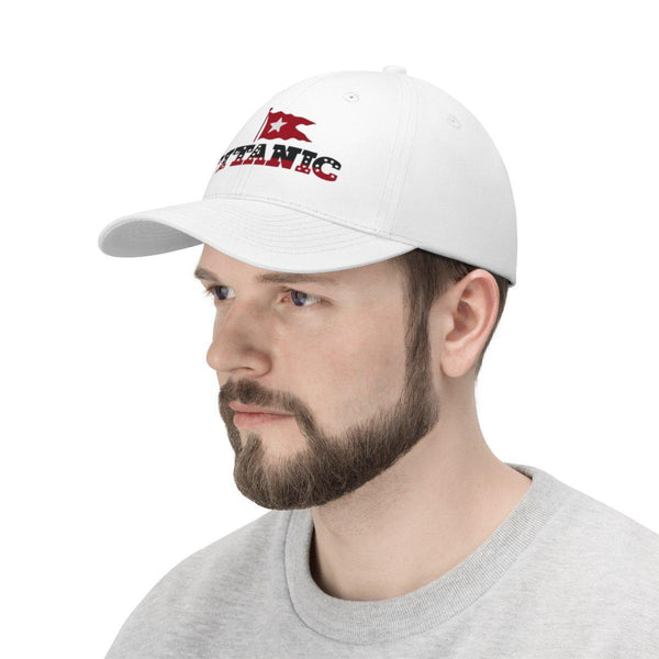 Titanic champion dad cap, women's & mens summer hat, R.M.S Titanic vintage baseball cap, embroidery design hat-Hats-Printify-titanic-big-ship-cruise-boy-gift-Titanic shop