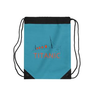 Titanic drawstring bag, college student gift, vintage drawstring pouch - perfect gift for teacher-drawstring bag-Printify-titanic-school-tote-bag-backpack-duffel-drawstring-white-star-line-Titanic shop