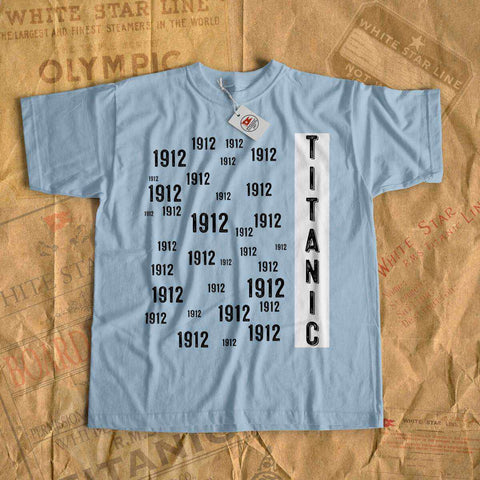 Titanic modern design t-shirt, Titanic party gift, gift for her, gift for him - gift for boyfriend, gift for girlfriend-T-shirt new-Titanic shop-titanic-tee-shirt-tshirt-1912-Titanic shop