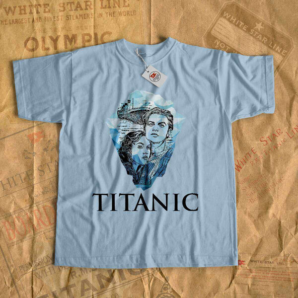 Titanic movie t shirt, Jack and Rose tees, shirt for history buff. Gift for her, gift for him - gift for boyfriend, gift for girlfriend-T-shirt new-Printify-titanic-tee-shirt-tshirt-1912-Titanic shop