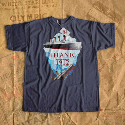 Titanic sink, Titanic old ship sink - boys Titanic shirt, vintage kid clothes-T-shirt new-Titanic shop-titanic-tee-shirt-tshirt-1912-Titanic shop