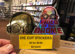 Die-cut sticker pack