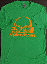 Load image into Gallery viewer, Logo tee — Green and Orange (Unisex)