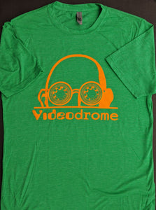 Logo tee — Green and Orange (Unisex)