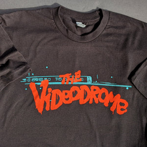 """The Videodrome"" Tee — Black (Unisex)"