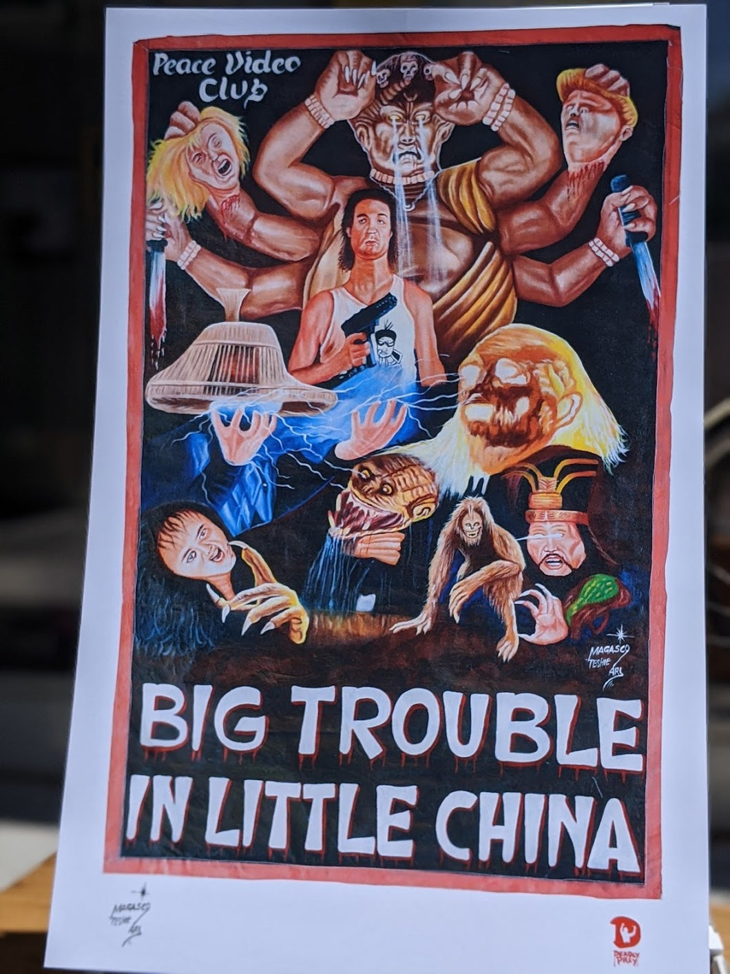 Big Trouble in Little China print — Deadly Prey Gallery