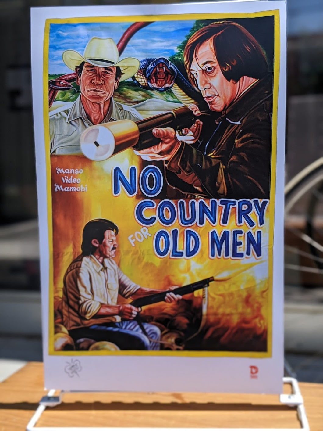 No Country for Old Men print — Deadly Prey Gallery