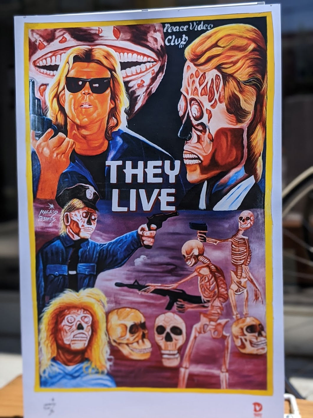 They Live print — Deadly Prey Gallery