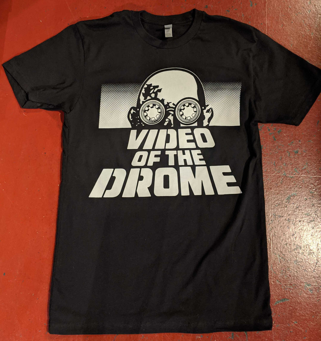 Video of the Drome tee — Black (Unisex)