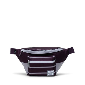 Herschel Supply Seventeen Prep Stripe Blackberry Wine Hip Pack