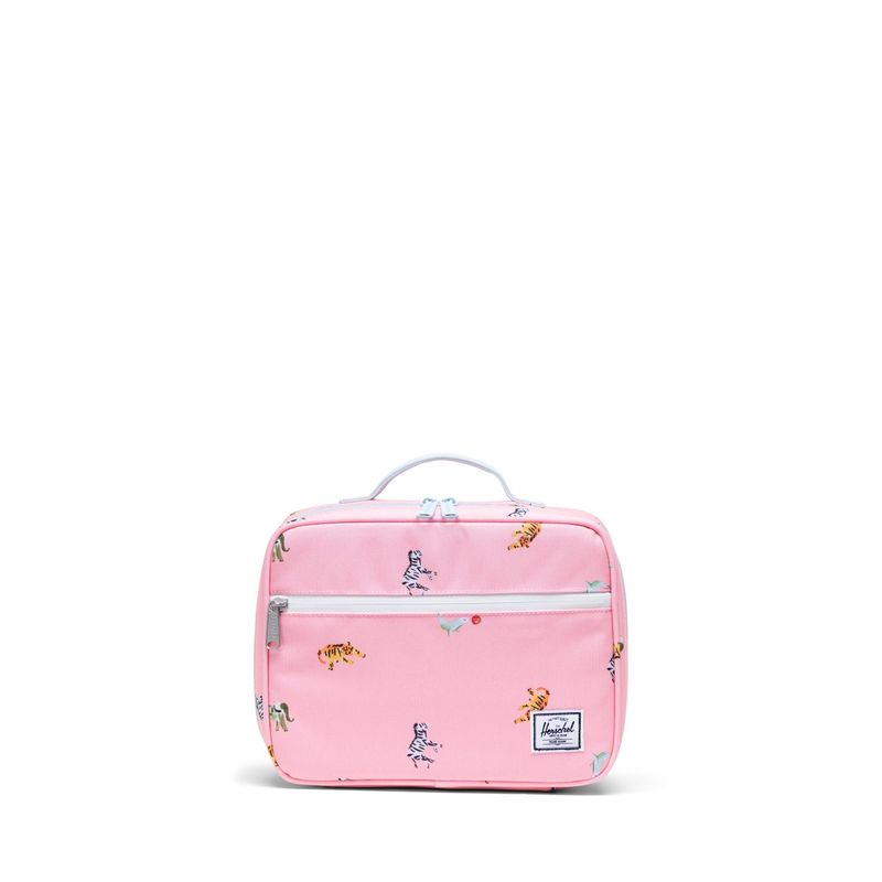 Herschel Supply Popquiz Candy Pink Circus Animals Lunchbox