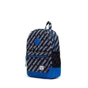 Herschel Supply Heritage Youth Roll Call Black / White / Lapis Blue Back Pack