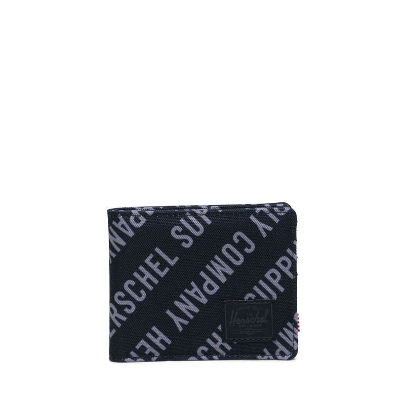 Herschel Supply Roy RFID Roll Call Black / Sharkskin Wallet
