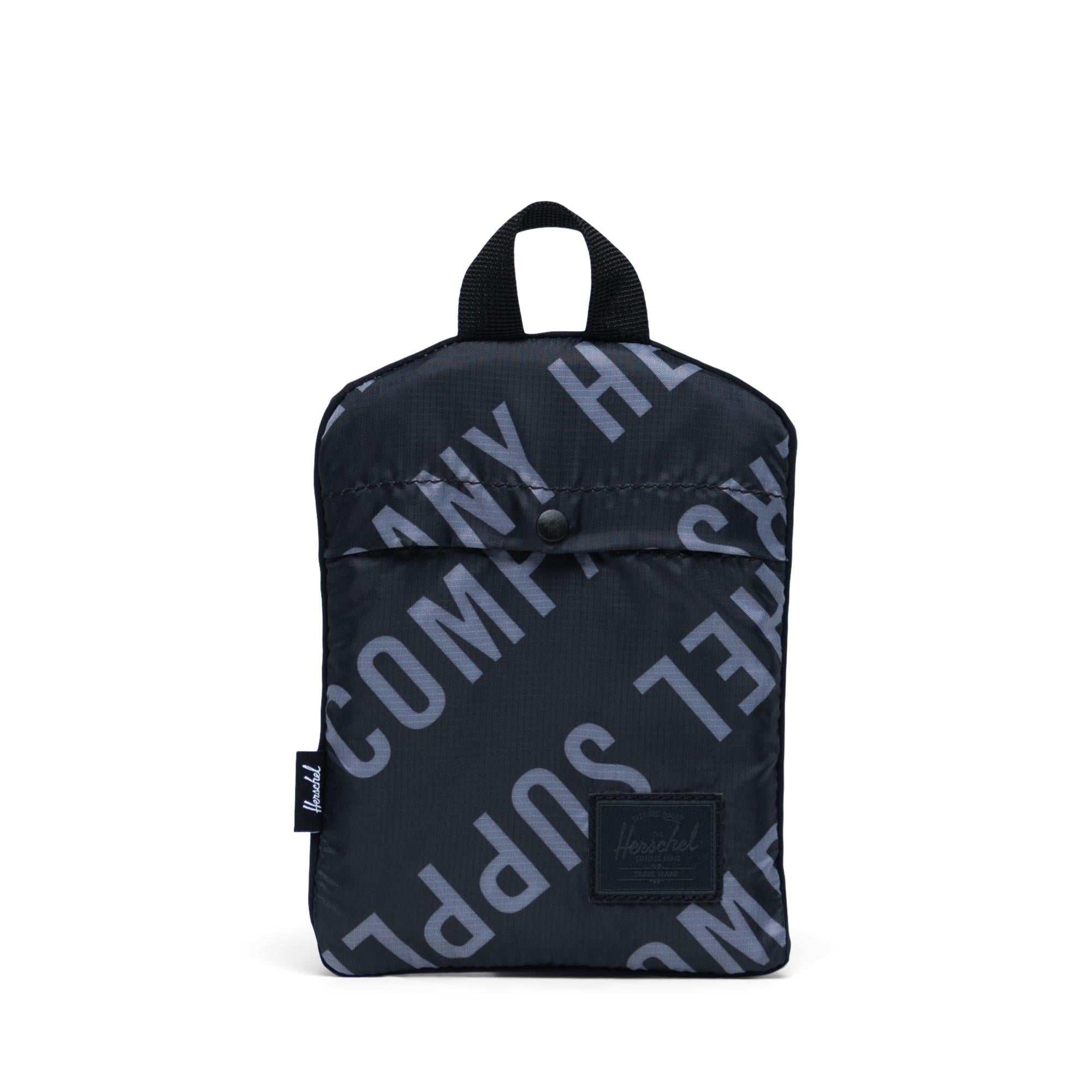 Herschel Supply Packable Duffle Roll Roll Call Black / Sharkskin Duffle Bag