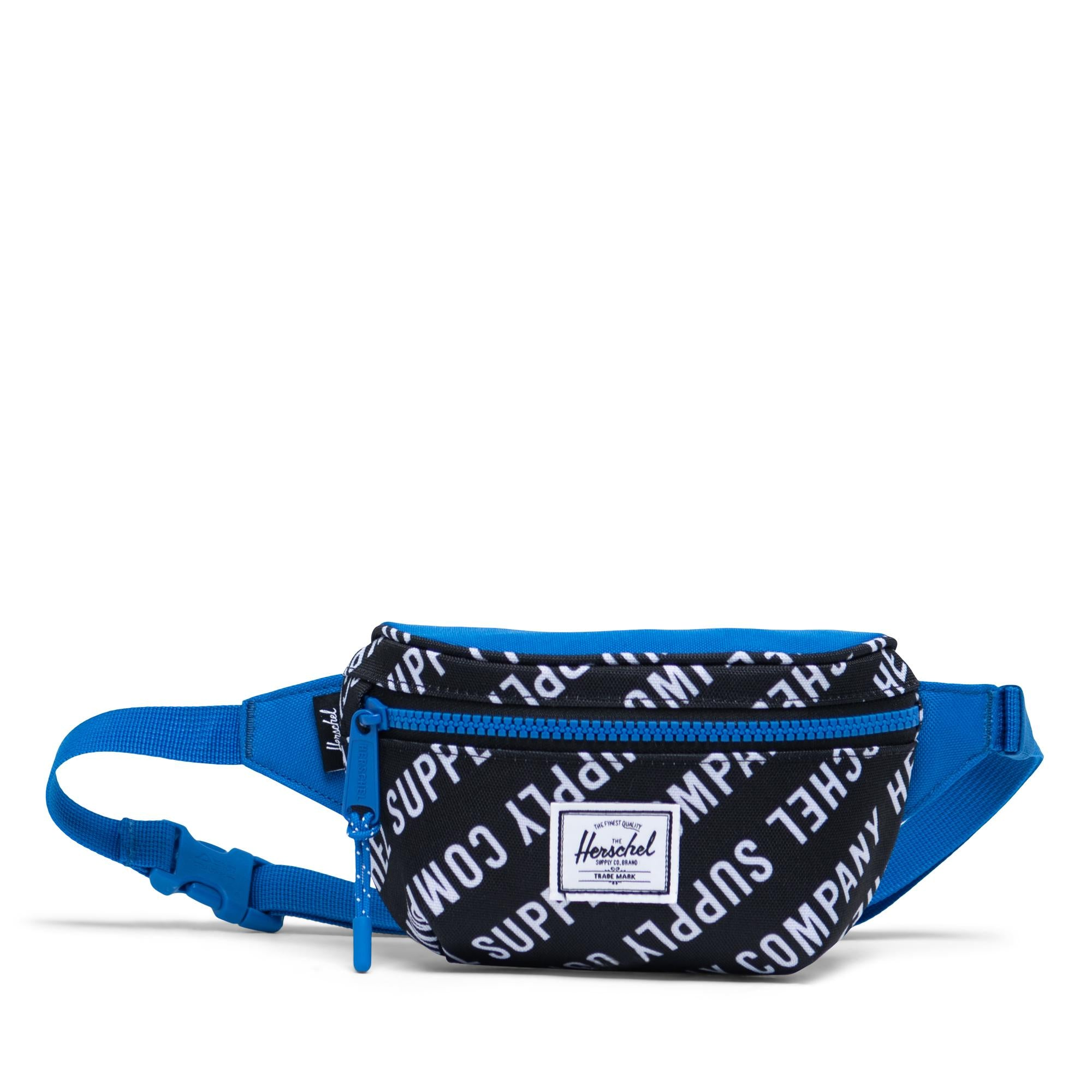 Herschel Supply Twelve Roll Call Black/White/Lapis Blue Hip Pack