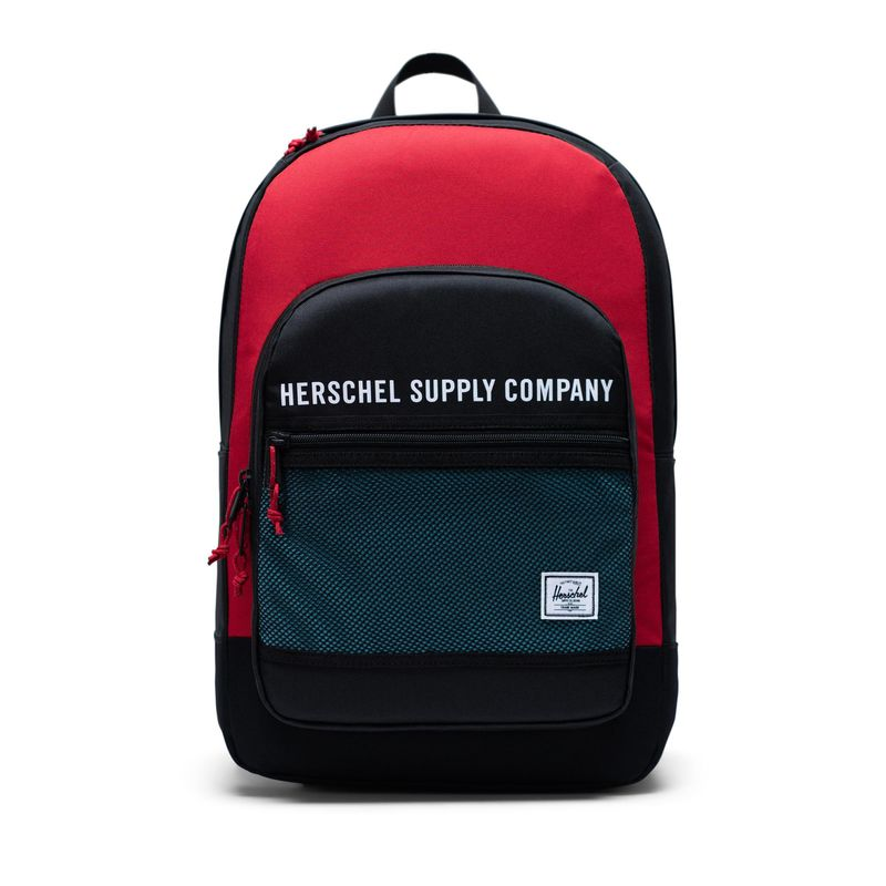 Herschel Supply Athletics Kaine Black / Red / Bachelor Button Back Pack