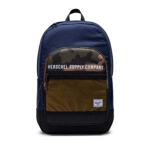 Herschel Supply Athletics Kaine Peacoat / Woodland Camo / Lemon Chrome Back Pack